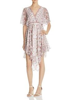 Ella Moss Wayfare Printed Silk Dress