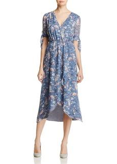 Ella Moss Wildflower Faux-Wrap Dress