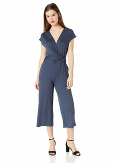 Ella Moss Women's Addison Twist Drape Jumpsuit