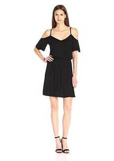 Ella moss Women's Bella Cold Shouler Dress  XS