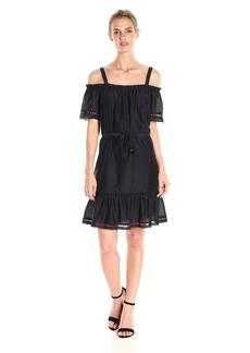 Ella moss Women's Brigitte Ruffle Dress  M