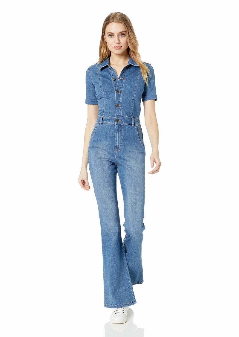 Ella Moss Women's Button Down Jumpsuit