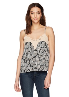Ella Moss Women's Cami with Applique  L