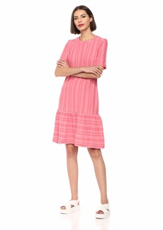 Ella Moss Women's Camilla Striped Trumpet Dress  XSmall