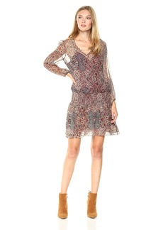 Ella Moss Women's Casablanca Tapestry Dress  L