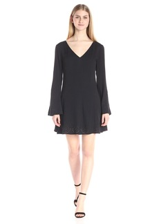 Ella moss Women's Dina Bell Sleeve Dress