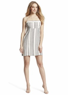 Ella Moss Women's Dorothy Zip Tie Back Dress
