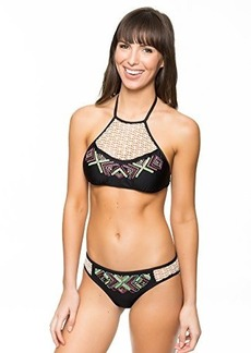Ella Moss Women's Dream Weaver Halter Bikini Top