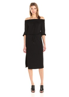 Ella moss Women's Essential Bella Off The Shoulder Dress  S