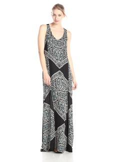 Ella moss Women's Fez Printed Maxi Dress