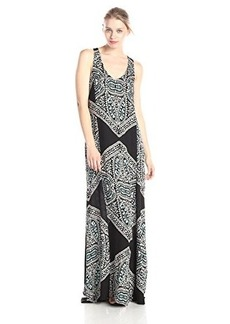Ella moss Women's Fez Printed Maxi Dress