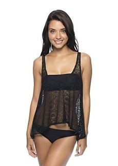 Ella Moss Women's Free Spirit Layerup Soft Bandeau Bikini Top
