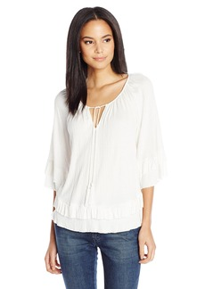 Ella Moss Women's Gioannia Off The Shoulder Blouse  L