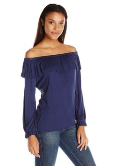 Ella Moss Women's Gioannia Off The Shoulder Blouse  S