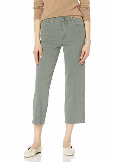 Ella Moss Women's High Rise Cropped Wide Leg Jean   Regular