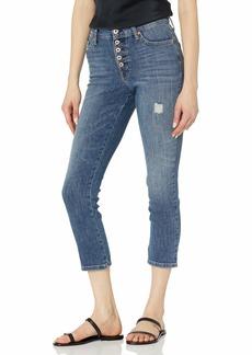 Ella Moss Women's High Rise Slim Straight Crop Jean   Regular