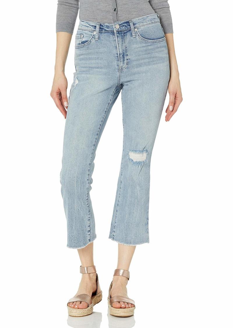 Ella Moss Women's High Waist Crop Flare Jean   Regular