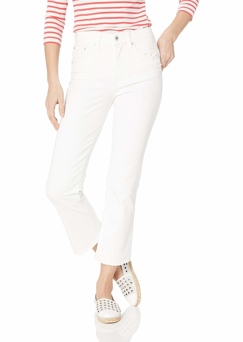 Ella Moss Women's High Waist Flare Crop Denim