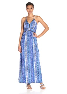 Ella moss Women's Inka Print Maxi Dress