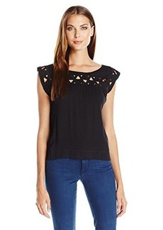 Ella moss Women's Kaliso Cut Out Tee