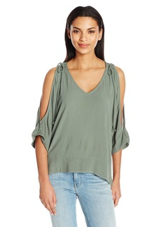Ella Moss Women's Katella V Neck Blouse  XS