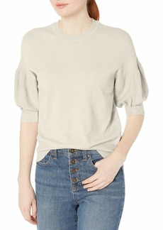 Ella Moss Women's Megham Puff Sleeve Sweater