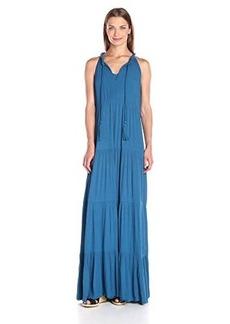 Ella moss Women's Miko Tiered Maxi Dress Seaport