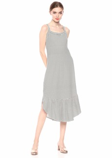 Ella Moss Women's Millie Shirred Knit Dress  XLarge