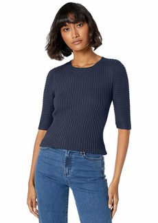 Ella Moss Women's Miranda Puff Short Sleeve Sweater