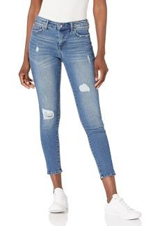 Ella Moss Women's Misses Mid Rise Skinny Ankle Jean