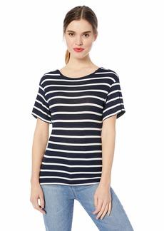 Ella Moss Women's Nancy Twist Back Short Sleeve Top  XLarge