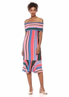 Ella Moss Women's Nora Off Shoulder Sleeveless Dress  XSmall