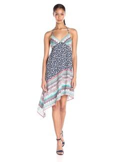 Ella moss Women's Oceana Asymmetric Hem Dress