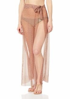 Ella Moss Women's Pareo Swimsuit Cover Up Dashing dots Maple