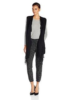 Ella moss Women's Piper Fringe Sweater Vest
