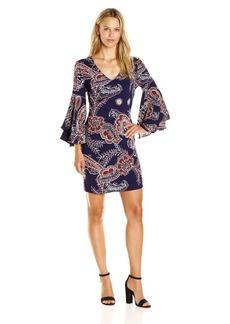 Ella Moss Women's Riya Flutter Sleeve Dress  S