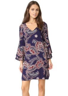 Ella Moss Women's Riya Flutter Sleeve Dress  S