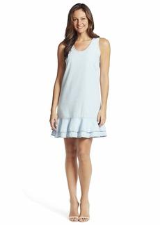 Ella Moss Women's Ruffle Hem Pullover Dress