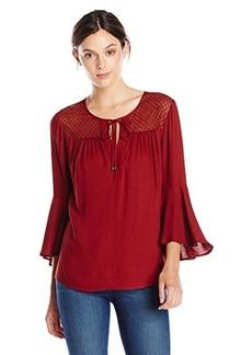 Ella moss Women's Sanaa Bell Sleeve Blouse