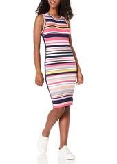 Ella Moss Women's Simone Sleeveless Ribbed Dress
