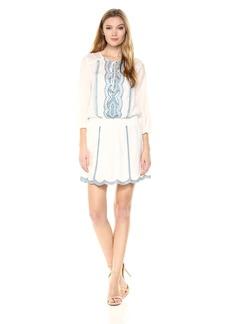 Ella Moss Women's Smocked Dress  L
