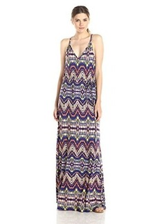 Ella moss Women's Souk Printed Jersey Maxi Dress