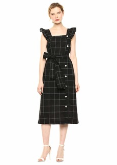 Ella Moss Women's Stacy Belted Midi Dress