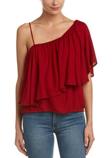 Ella Moss Women's Stella One Shoulder Top  L