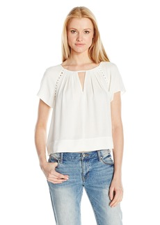 Ella Moss Women's Stella with Caging Blouse  XS