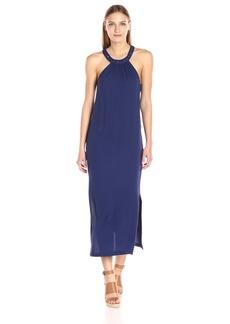 Ella moss Women's Stella with Caging Maxi Dress  L