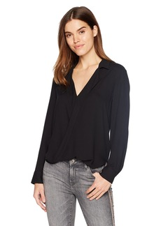 Ella Moss Women's Surplice Front Top  L