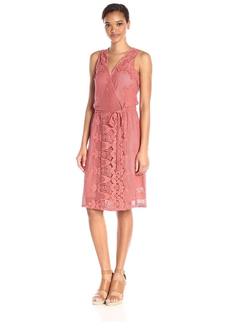 Ella moss Women's Thistle Crochet Back Surplus Dress