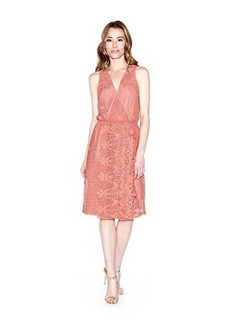 Ella moss Women's Thistle Crochet Back Surplus Dress