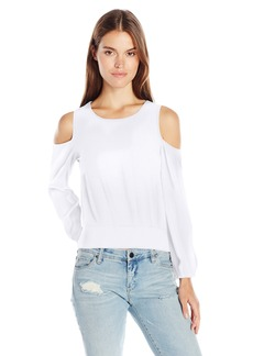 Ella Moss Women's Usiku Cold Shoulder Blouse  S